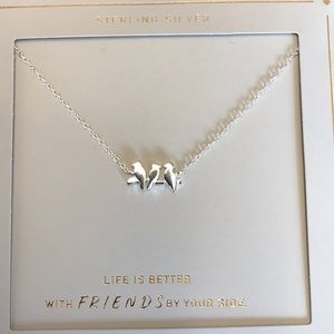 Beautiful necklace symbol of friendship